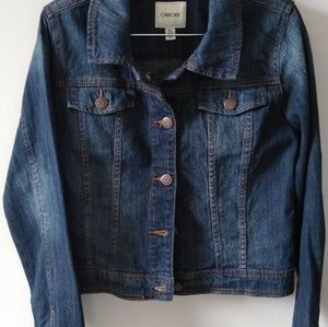 Jean Jacket Cherokee girls size 14/16 XL, used.